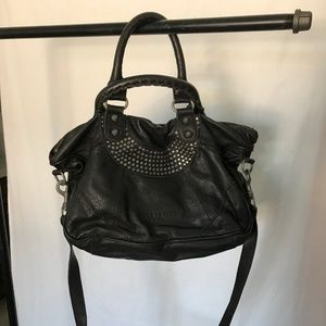 Liebskin Leather Studded Bag
